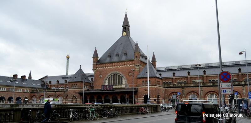 Peisajele Calatorului-Gara Centrala Copenhaga