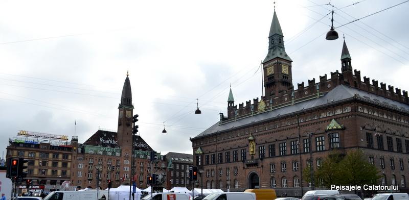 Peisajele calatorului primaria Copenhaga