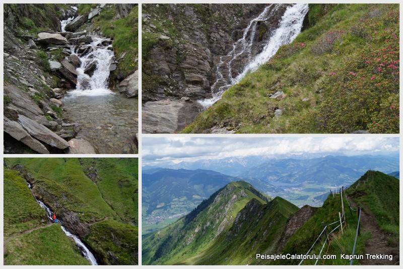 Traseul de trekking Alexander Enzinger Weg,-Kaprun