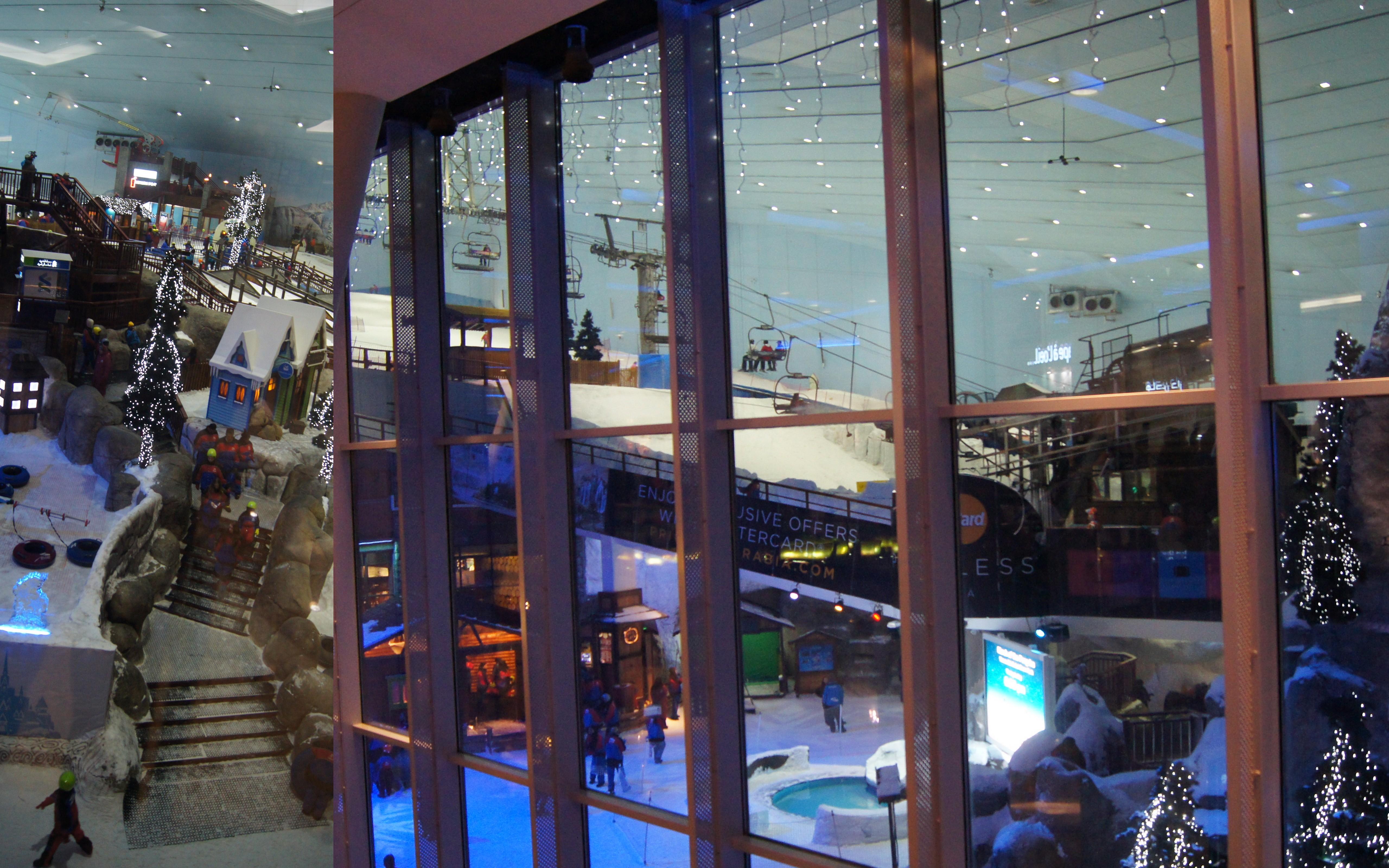Peisajele calatorului-mall of emirates