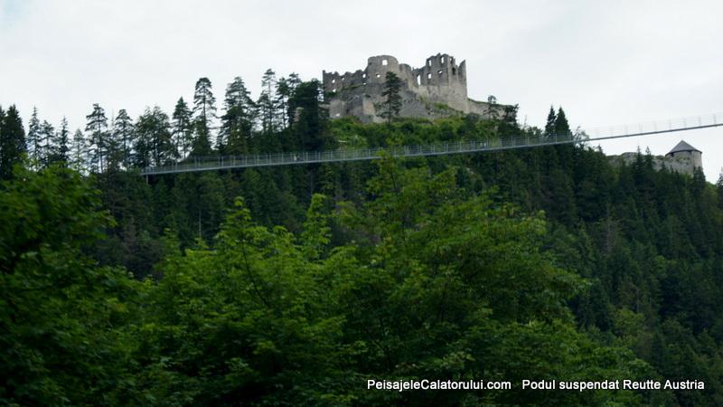 Podul suspendat Reutte -Austria
